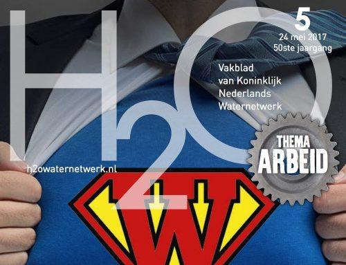 H2O Waternetwerk | Onderwatervlieger wekt energie op